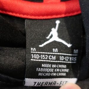 b87e727568e1 Jordan Shirts   Tops - Air Jordan Boys Cement Print Hoodie sz M (10-
